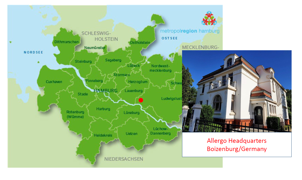 Allergo Healthcare - Headqarter Germany